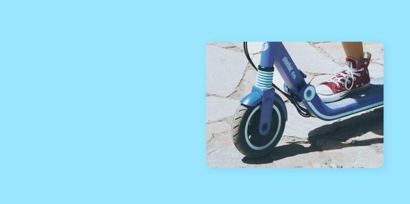 elektrische step kind ninebot zing e8