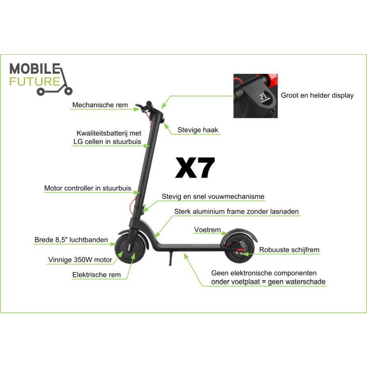 elektrische step x7 kenmerken