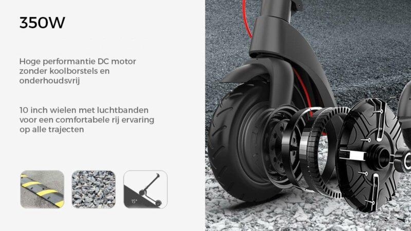 elektrische step x7 motor