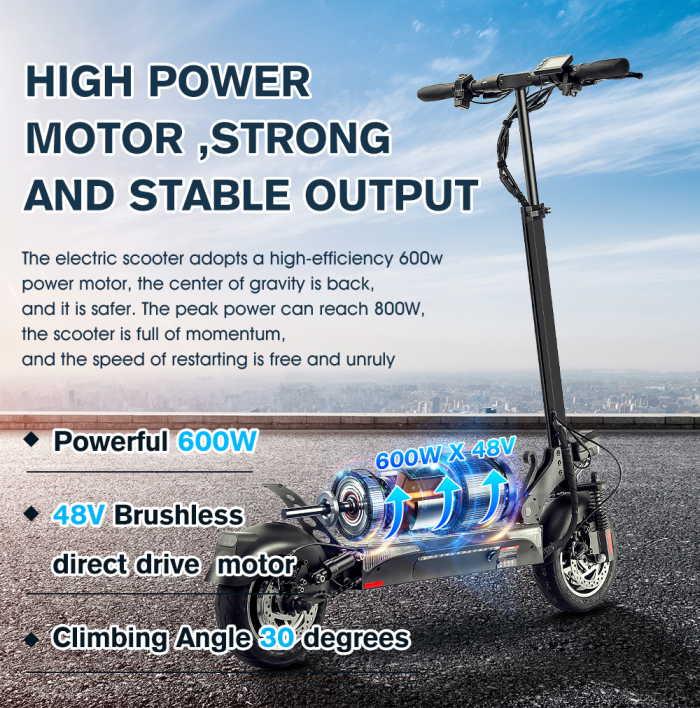 mobile future x10 600w motor